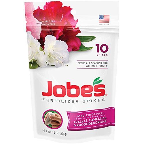 Jobe's Azalea, Camellia & Rhododendron Fertilizer Spikes, 10...