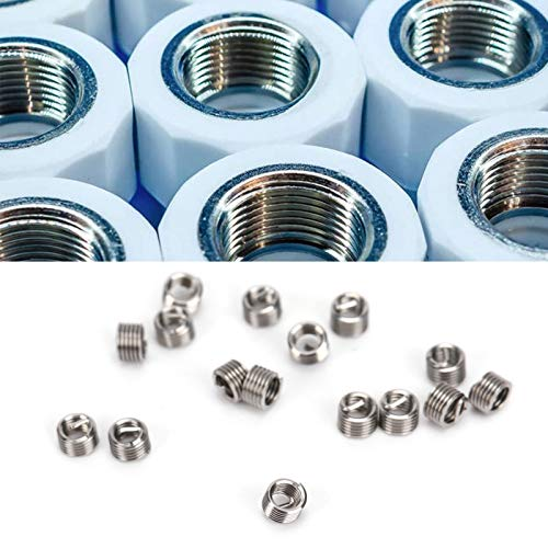 Insertos de rosca, herramienta de reparación de roscas Uso práctico: alta resistencia para cobre para plásticos de ingeniería para aleación de aluminio para aleación de zinc(1.5D)