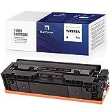 BunToner (sin chip) compatible HP 207A W2210A Cartucho de tóner para HP Color Laserjet Pro M255 M255dw M283cdw M282nw M283fdw M283 (1 x Negro)