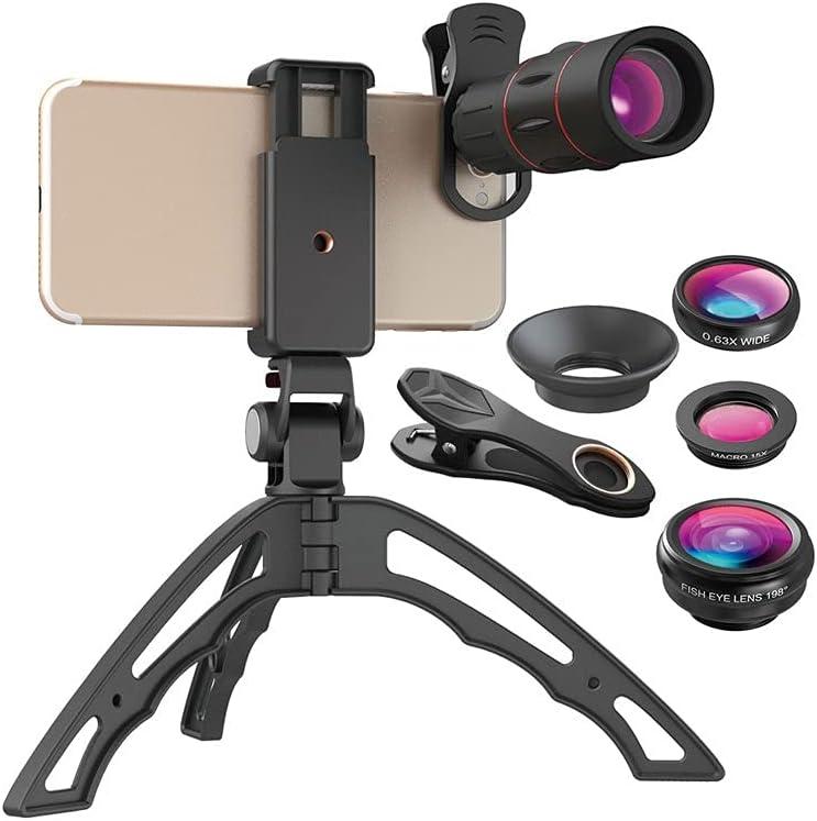 CHENGGUAN Super sale period limited Phone Lens Kit with Tripod 18X Telephoto Compat Arlington Mall