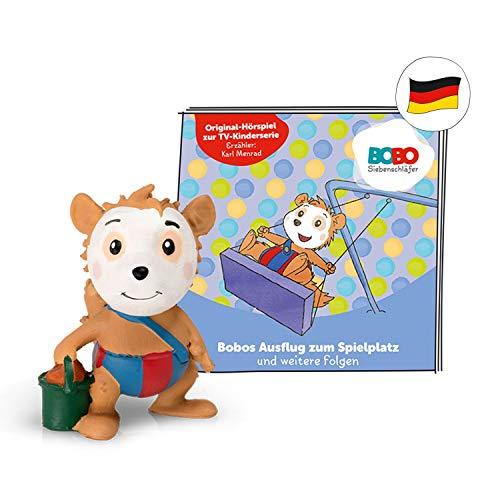 tonies Hörfiguren für Toniebox: BOBO SIEBENSCHLÄFER Bobos Ausflug zum Spielplatz + 6 weitere Folgen - ca 40 Min. Spieldauer - ab 3 Jahre - DEUTSCH