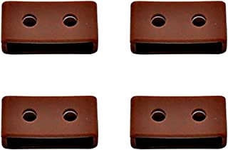 Hemobllo 4Pcs Silicone Watch Strap Loop Watch Strap Keeper Replacement Watch Band Ring Retainer Holder Keeper for Wristwat...
