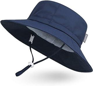 Ami & Li döda baby solhatt vattentät justerbar utomhus hink hatt fiske vandring camping för flickor pojkar spädbarn barn s...