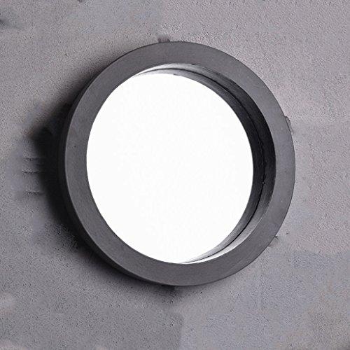 Vast Badkamer Creatieve Waterdichte Grijze Spiegel Muur Gemonteerd High-Transparant Handgemaakte Spiegel 118