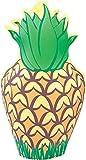 Bristol Novelty IJ032 Aufblasbare Ananas-Party-Dekoration, Gelb/Grün/Braun, Einheitsgröße - Bristol Novelty