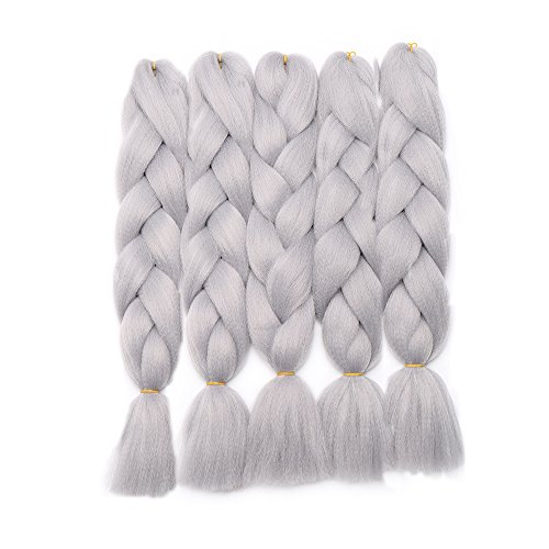 5 Packs Braids Extensions Flechten Hair Extensions Jumbo Crochet Haar Kunsthaar Kanekalon Colorful 5pcs-24