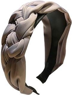 Bodhi2000 - Cerchietto per capelli da donna, con nodo intrecciato e nodo intrecciato
