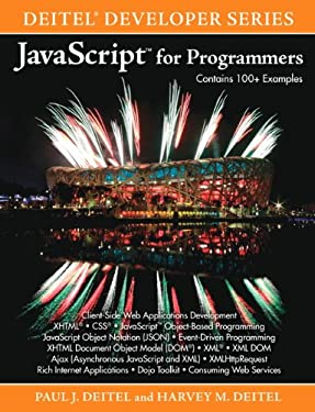 JavaScript for Programmers (Deitel Developer Series)