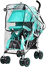 Obecome Universal Baby Stroller Rain Cover Waterproof Umbrella Stroller Wind Dust Shield Cover for Strollers