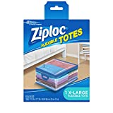 Ziploc Storage Bags for Clothes, Flexible Totes for Easy and Convenient Storage, XL, Pack of 1