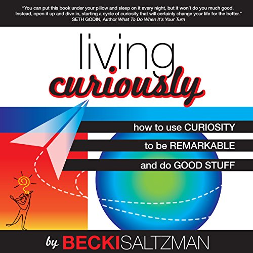 Living Curiously audiobook cover art