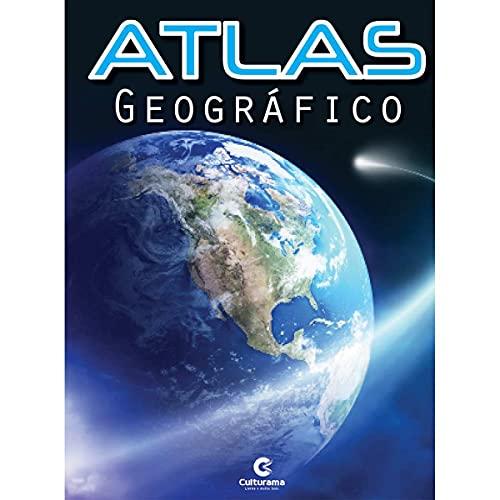 Pacote com 5 Atlas Geográfico