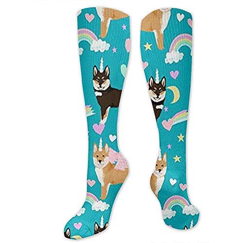Calcetines de compresión Shiba Inu para perros, los mejores médicos, para correr, atletismo, venas varicosas, viajes.