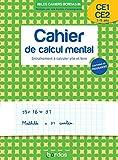 Les cahiers Bordas - Cahier de calcul mental CP-CE2 - Entrainement à calculer vite et bien
