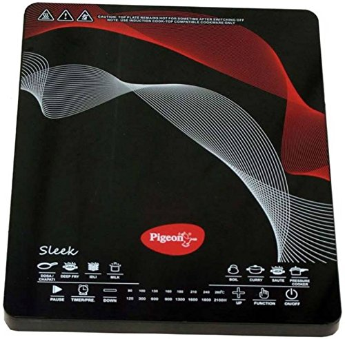 Pigeon Rapido 2100W Induction Cooktop (Black)