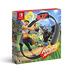 An adventure game that's also a workout Explore a huge fantasy world and defeat enemies using real-life exercise Jog, sprint, and high knee through dozens of levels Control in-game movements with the new Ring-Con and Leg Strap accessories Learn about...