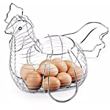 Acan Vivahome - Huevera de gallina metálica