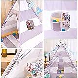Zoom IMG-2 zgyqgoo tenda teepee per bambini