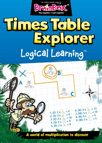 The Green Board Game Co. Times Table Explorer Logical Learning