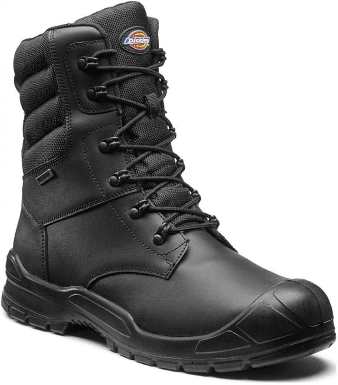 Dickies Trenton Pro Safety Combat Boots Mens Waterproof Steel Toe Cap shoes (UK7 - EU41)