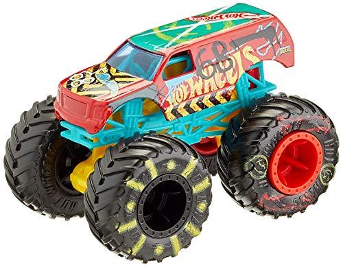 Hot Wheels GNJ62 - Monster Trucks 1:64 Spielzeugauto Die-Cast SUV Demo Derby, Spielzeug ab 3 Jahren