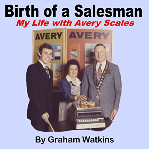 Birth of a Salesman audiobook cover art