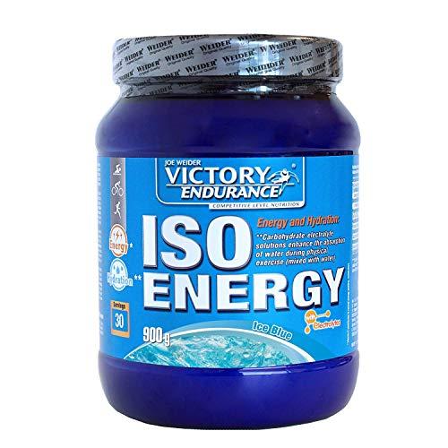 Victory Endurance Iso Energy Ice Blue 900g. Rápida energía e hidratación.Con extra de Sales minerales y enriquecido con Vitamina C