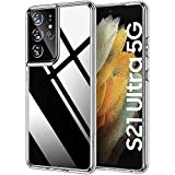 HOOMIL Phone Case Compatible with Samsung Galaxy S21 Ultra Case Clear