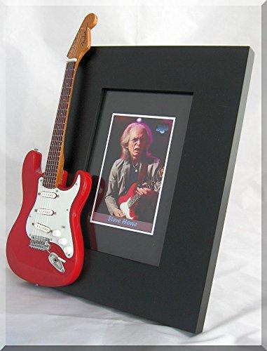 Steve Howe Miniatur-Gitarre Bilderrahmen Ja