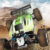 Coche RC, cuatro ruedas A959-B mando a distancia juguete Buggy 2.4 GHz 70 km/h potente juguete coche escala 1:18 coche de carreras diseño con amortiguadores, regalo para niños Tamaño libre verde