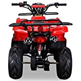 Kinder Quad S-8 Farmer 125 cc Motor Miniquad 125 ccm Toronto (Rot) - 7