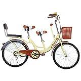Kuan 28 Pouces Parent-Enfant vélo Famille Tandem vélo Voyage vélo