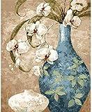 ZAWAGU Las Pinturas Digitales de Bricolaje Son ricas y Coloridas para niños Adultos, Pintura Digital, Set de decoración, Regalossin Marco