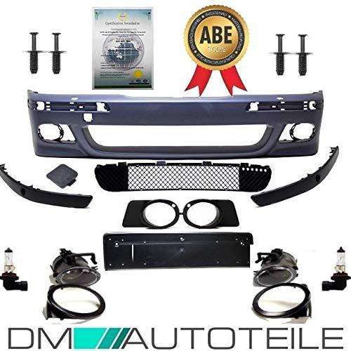 DM Autoteile STOßSTANGE vorne für SRA+PDC+Nebel+MONTAGE SET passt für E39 außer M5 M ABE*