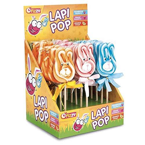 Lapipop lollys, 18 stuks