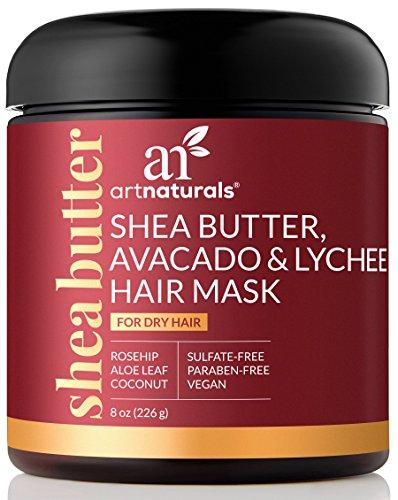 Art Naturals Traitement de cheveux beurre de karité, avocat et litchi - (8 oz/226 g)
