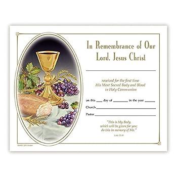 Best first communion certificates Reviews