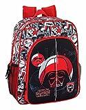 Safta Mochila Escolar Junior Star Wars 'Galactic Mission' Oficial 320x120x380mm