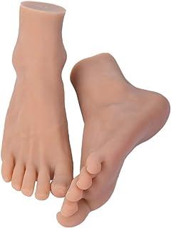 Amagogo 2pcs Male Deco Leg Deco Foot Mannequin Foot Model Presentation Foot,
