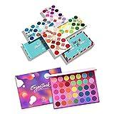 Eyeseek 64 Colors Colorful High Pigmented Eyeshadow Palette and 35 Colors Rainbow Eye Shadow Pallet