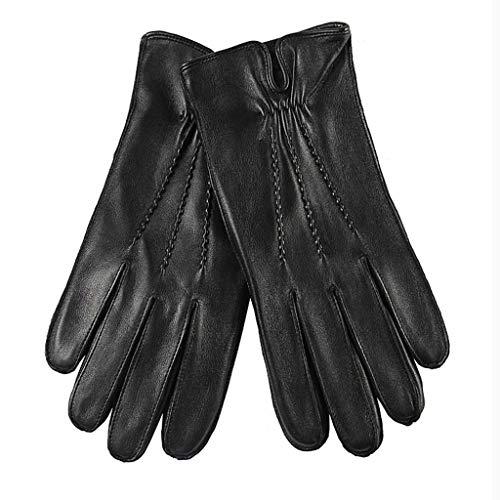 Huoqilin handschoenen van Europees en Amerikaans geitenleer, geïmporteerd lederen handschoenen voor mannen meer fluweel winter warme mode manicure