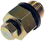 Dorman 090-045CD Oil Drain Plug Piggyback 1/2-20 D.O, Head Size 3/4 In.