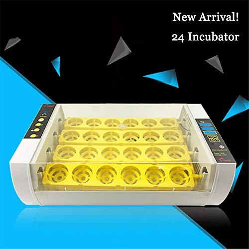 Xiaolizi 2020 más nuevos de la Granja criadero de la máquina 24 Huevo de Hatchers Incubadora de Pollo automático de Huevos para la Venta de codorniz criadora,110V