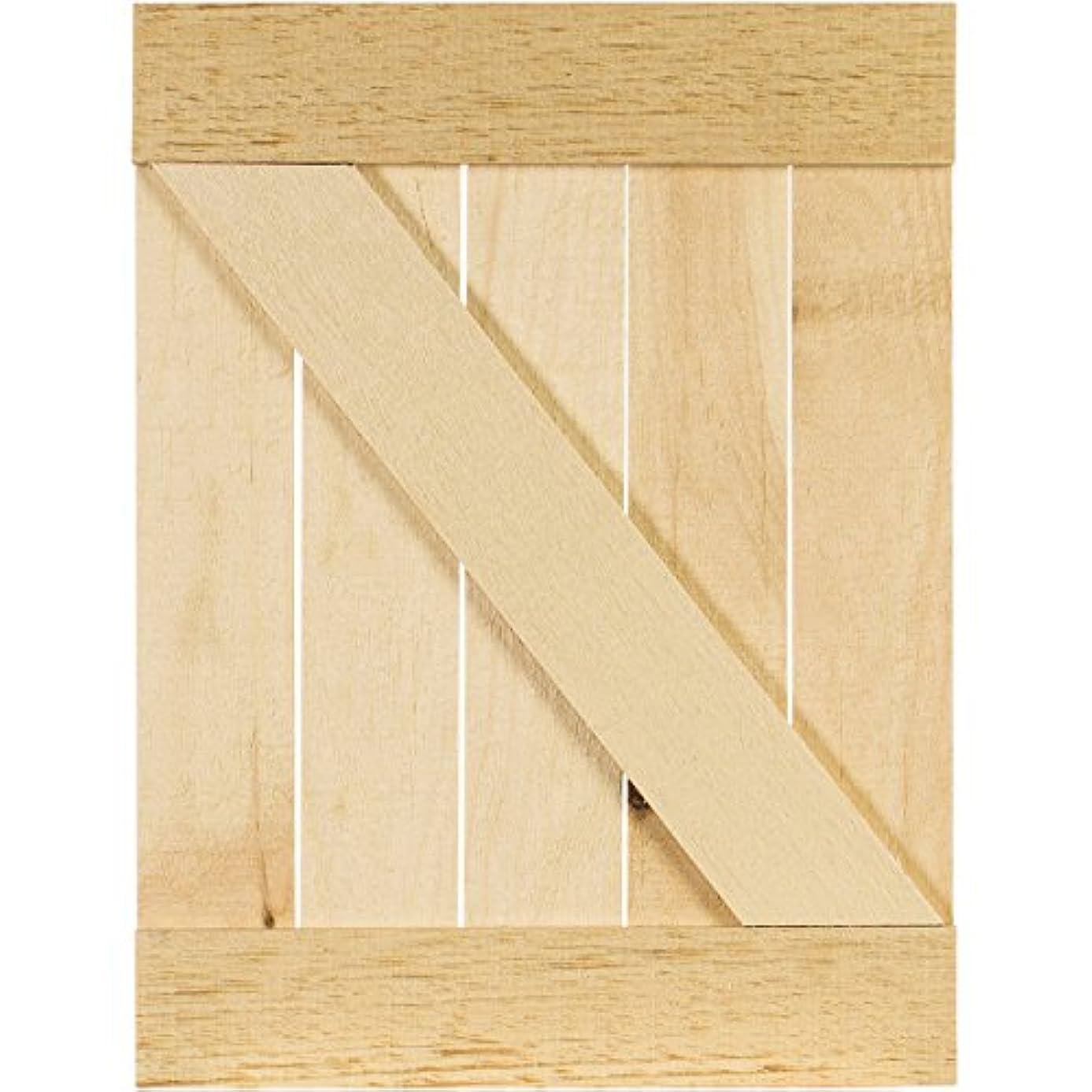 Rustic Pallet Door-12.875x17.125x.625