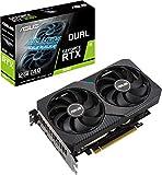 ASUS DUAL-RTX3060-O12G - Tarjeta gráfica de Gaming NVIDIA GeForce RTX 3060 OC Edition 12GB GDDR6 (PCIe 4.0, HDMI 2.1, DisplayPort 1.4a, diseño de 2 Ranuras, Ventiladores Axial-Tech, tecnología 0dB)