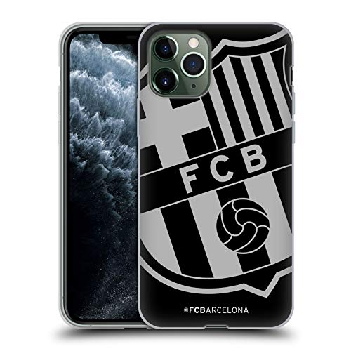 Head Case Designs Offizielle FC Barcelona Zu Gross Wappen Soft Gel Huelle kompatibel mit Apple iPhone 11 Pro