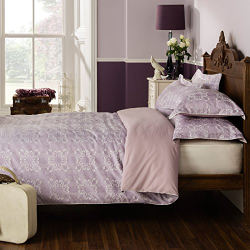 Ditton Hill Libby Floral Heather Double Duvet Quilt Cover Bedding Set