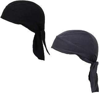 Koolip Sweat Wicking Beanie Cap Hat Skull Cap Pirate Hat Bandana Head Wrap for Men and Women