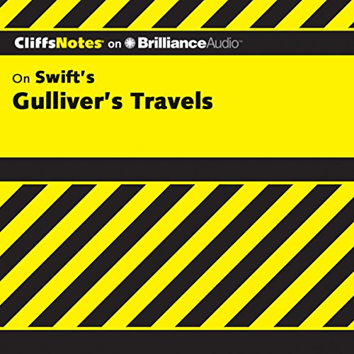 Gulliver's Travels: CliffsNotes audiobook cover art