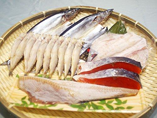〔厳選〕塩紅鮭と北海道の干物セット